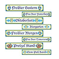Oktoberfest Sign Cutouts from Century Novelty