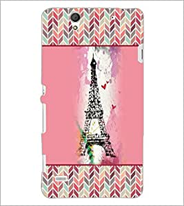 PrintDhaba Tower D-4152 Back Case Cover for SONY XPERIA C4 (Multi-Coloured)