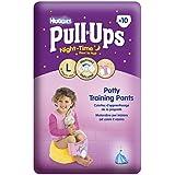 Huggies Pull Ups Nightime Potty Training Pants for Girls - Large (16-23 kg), 10 x 3 Packs (30 Pants)