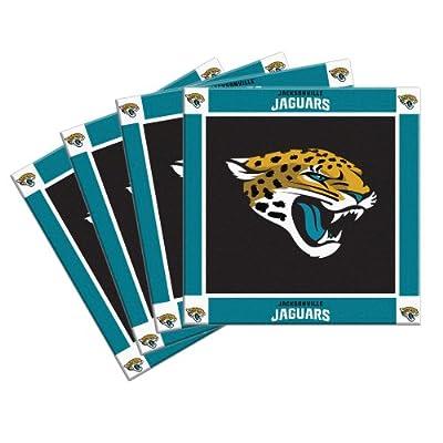 NFL Jacksonville Jaguars 4-Pack Ceramic Coasters