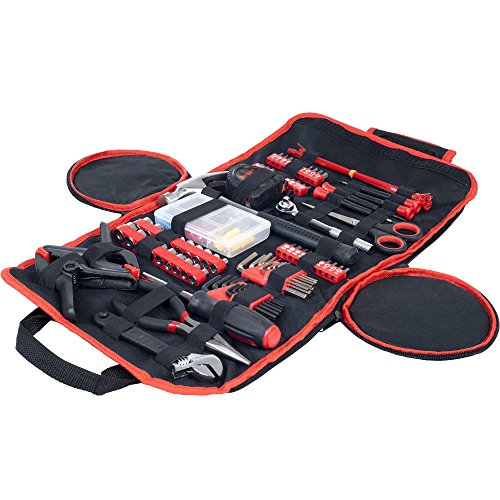 Stalwart 75-HT1086 86 Piece Tool Kit - Household Car & Office in Roll Up Bag (Car Basic Tools compare prices)