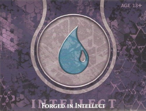 Magic The Gathering Journey Into Nyx Prerelease Pack - Blue (6 Booster Packs) Forged Of Intellect (Possible Divine Gift???) front-1029964