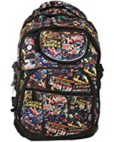 Marvel Vintage Comic Book Covers Fabric Back Pack