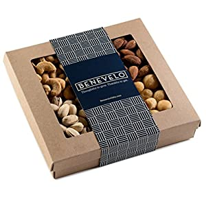 Happy Fathers Day, Gourmet Savory Nut Gift Box 1 Lb. By Benevelo Gifts