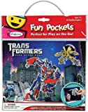 Transformers Colorform Fun Pocket