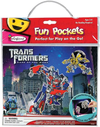Transformers Colorform Fun Pocket