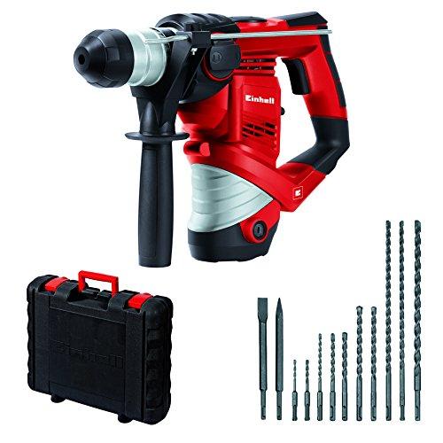 einhell-bohrhammer-set-tc-rh-900-900-w-3-j-bohrleistung-in-beton-oe-26-mm-sds-plus-aufnahme-inkl-12-