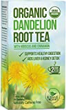 Raw Organic Dandelion Root Tea - 20 Bags x 2 grams