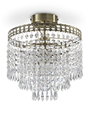 Flush Fountain Ceiling Light