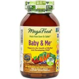 MegaFood Baby & Me Prenatal Vitamins, 120 Count (Premium Packaging)