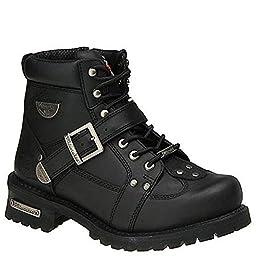 Men\'s Milwaukee® Road Captain Zip Boots Black, BLACK, 12EE