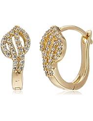 Sia Art Jewellery Clip On Earrings For Women (Golden) (AZ3523)