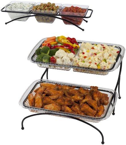 Creative Ware BUF12BLK Buffet Server and Condiment