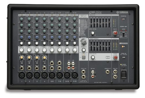 Yamaha EMX312SC 8 Input Powered Mixwer  Dual