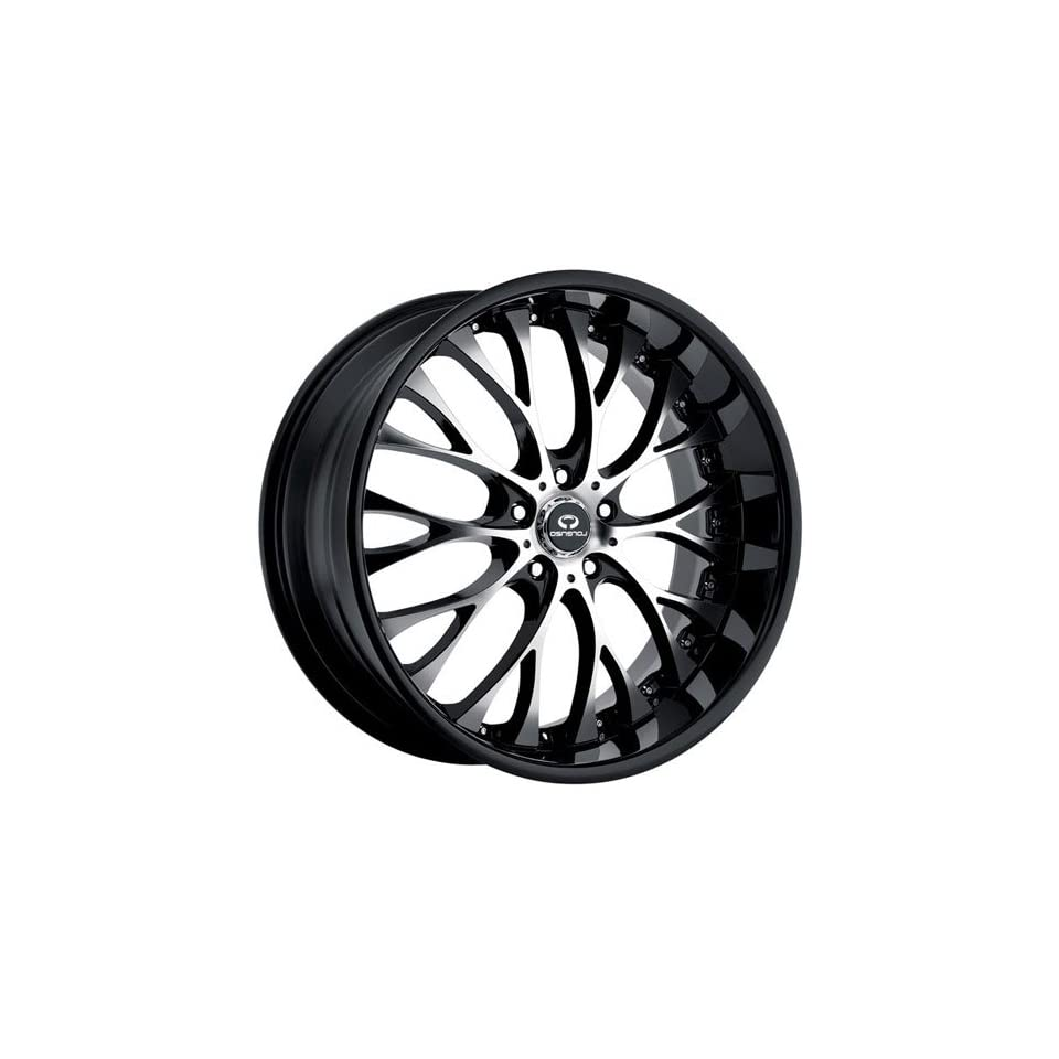 Lorenzo WL027 22x10 Black Wheel / Rim 5x115 with a 20mm Offset and a 72.60 Hub Bore. Partnumber WL02722015320A Automotive