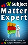 eBay Subject Matter Expert: 5 Weeks t...