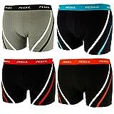 4er Pack Pesail Herren Boxershort Retro-Style YHU32101