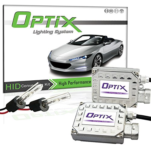 Tgp H1 6000K Diamond White Hid Xenon Conversion Kit Low Beam Only 2002-2006 Nissan Altima (No Factory Hid)