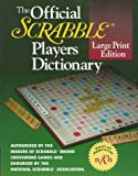 By Merriam-Webster The Official SCRABBLE (r) Players Dictionary, Large Print Edition (Lrg) [Paperback]