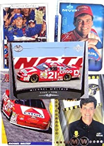 Michael Waltrip 20-card set with 2-piece acrylic case [Misc.] by Unknown