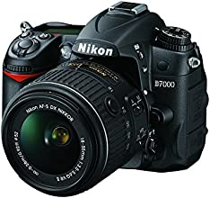 Nikon D7000 16.2 Megapixel Digital SLR Camera with 18-55mm Lens (Black)
