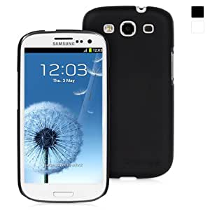 Snugg Samsung Galaxy S3 Ultra Thin Case in Black - High Quality Slim Profile Non Slip, Protective and Soft to touch for Samsung Galaxy S3