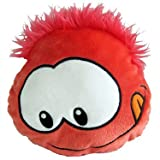 Disney Club Penguin Puffle Cushion - Red