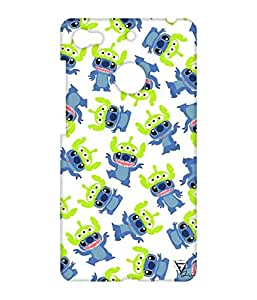 Vogueshell Cartoon Pattern Printed Symmetry PRO Series Hard Back Case for LeEco Le 1s Eco