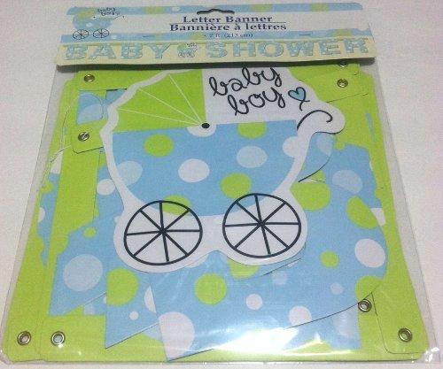Greenbrier Letter Banner Baby Shower Baby Boy