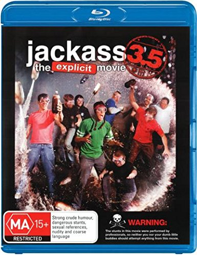 Jackass 3.5 - The Explicit Movie Blu-ray