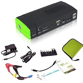 BESTEK  バッテリーレスキュー [13600mAhリチウムイオン搭載ジャンプスターター] 緊急対応  (5v/12V/19v)パソコン緊急充電/LEDライト/スマホ充電  充電式 非常用電源   非常用バッテリー BTCS001