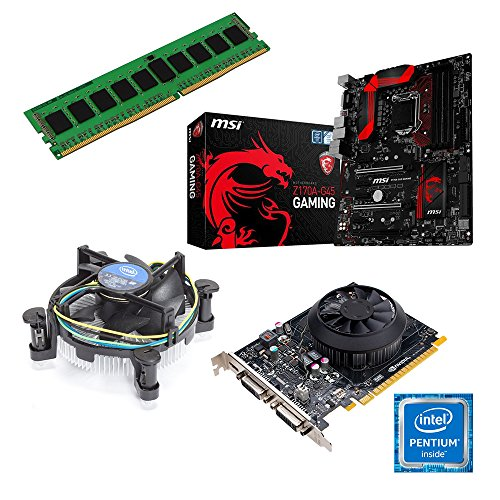 Aio Pc Upgrade Kit | Intel Core I3-4130 Haswell, 2 X 3.40 Ghz | New | Motherboard: Msi Z87-g45 Gaming | 4 Gb (1 X 4096 Mb Ddr3 Ram 1333 Mhz) Memory | Cpu Motherboard Bundle | Graphic: On Board | Fully Mounted Ready! 8192 Mb Ddr3 Arbeitsspeicher Nvidia Gtx Picture