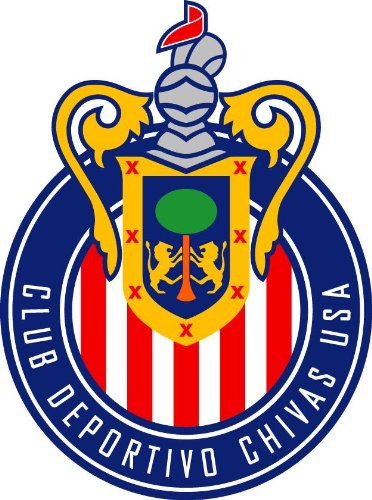 Chivas USA Soccer MLS Auto Car Decal Sticker 6.5X8.75