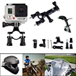 SAVFY Gopro Mounts - Motorcycle Bike...