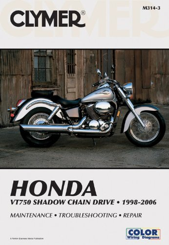 Honda Vt750 Shadow Chain Drive 1998-2006 (Clymer Manuals: Motorcycle Repair) front-489233