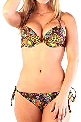 Ingear Sexy Underwire Bra/string Push up Bikini Set