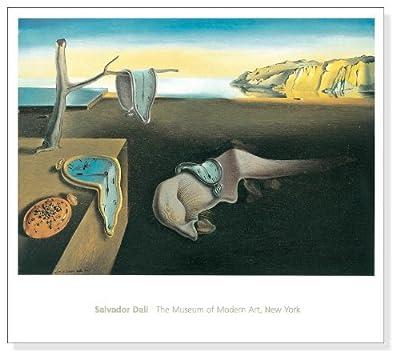 ポスター サルバドール ダリ 記憶の固執 (柔らかい時計) 1931年