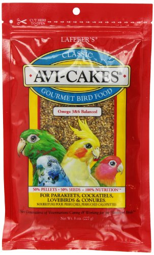 lafebers-avi-cakes-for-cockatiels-parakeets-lovebirds-and-conures-8-oz