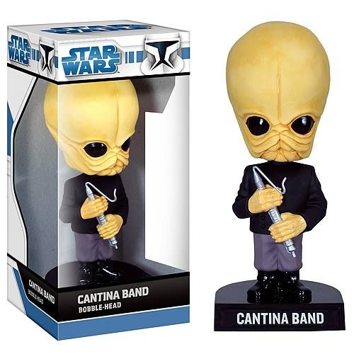 Buy Low Price Funko Cantina Band Wacky Wobbler Figure (B001JPXWUK)