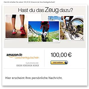Amazon.de Gutschein per E-Mail (Amazon Sport)