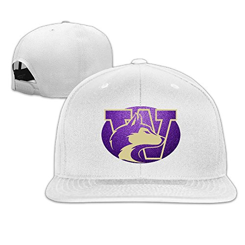 washington huskies flat brim hat washington flat brim cap