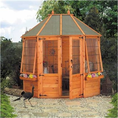 8ft x 6ft AVON OCTAGONAL SUMMERHOUSE
