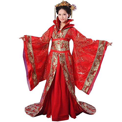 Vshop-2000 Chinese Costume Women's Strapless Empress Halloween Cosplay