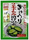 中村食品 きゅうり2本手もみ漬けの素 12g×6袋
