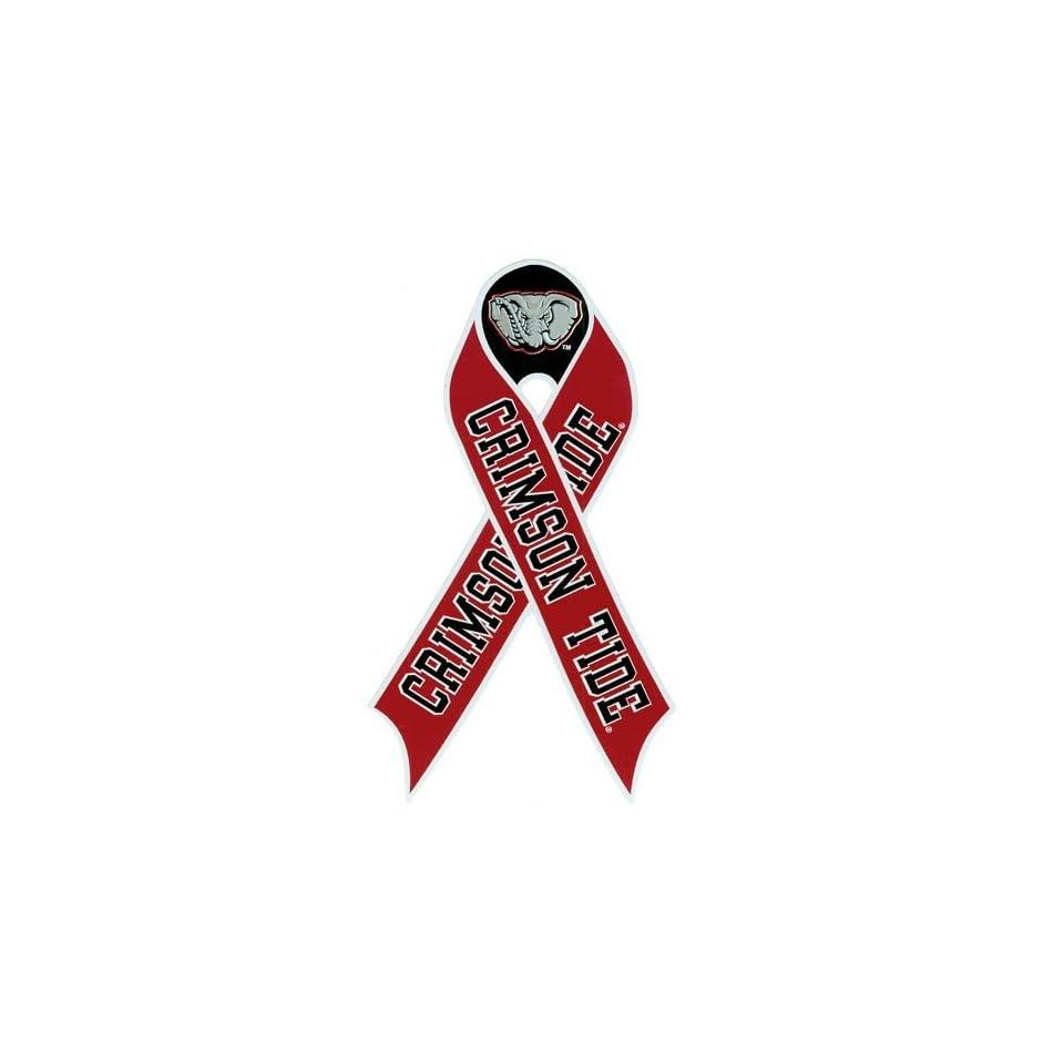 NCAA Alabama Crimson Tide Repositionable Ribbon Decal