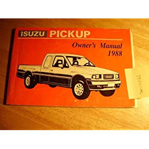 ISUZU TROOPER SERVICE MANUAL ISUZU PICKUP MANUAL 1981-1993 ONLINE ...
