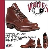 (ホワイツ ブーツ) WHITE'S BOOTS 5インチ アメリカーナ セミドレス ブーツ [シェンナ] 2332W 5inch AMERICANA SEMIDRESS BOOTS Eワイズ SIENNA WATER BUFFALO メンズ (並行輸入品)