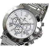 サルバトーレマーラ 腕時計 クロノグラフ メンズ SM7019SS-WH