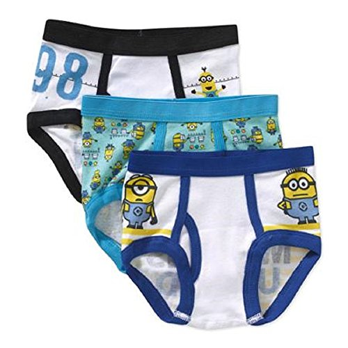 Despicable Me Toddler Boys 2t-4t Underwear, 3 Pack (2t/3t)