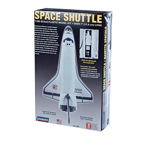Lindberg 1:200 scale space shuttle